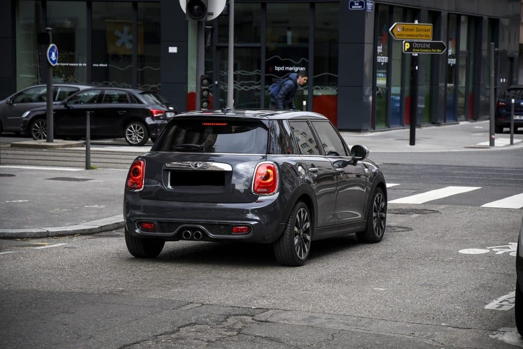 Mini Cooper Grise Luxembourg