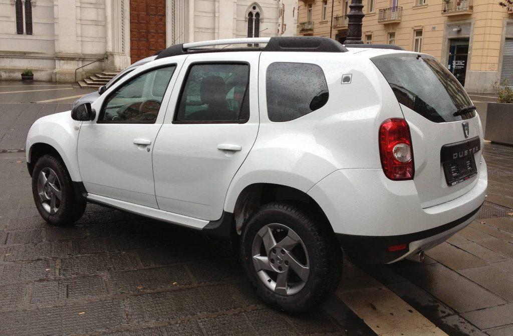Dacia Duster Blanc Luxembourg