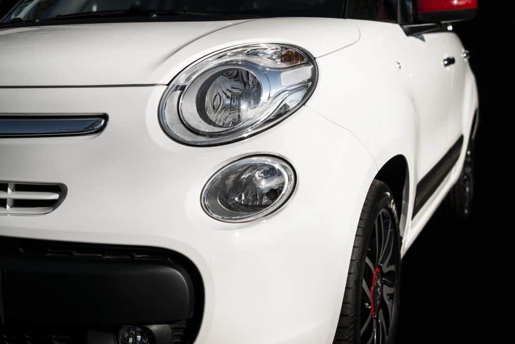 Face avant Fiat 500