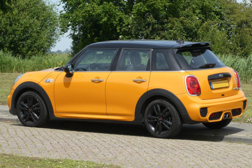 Mini Cooper Jaune Luxembourg